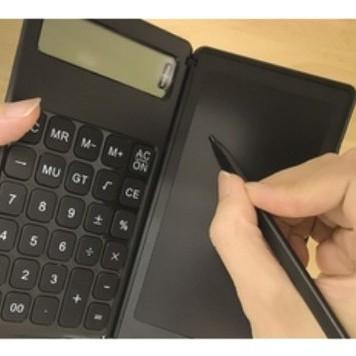 電卓付き電子メモパッドPMC-55BK