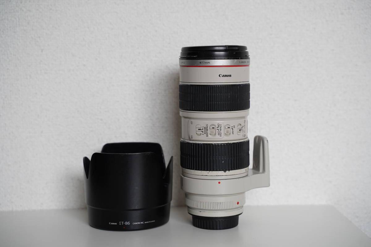 Canon キャノン EF 70-200mm F2.8L IS USM