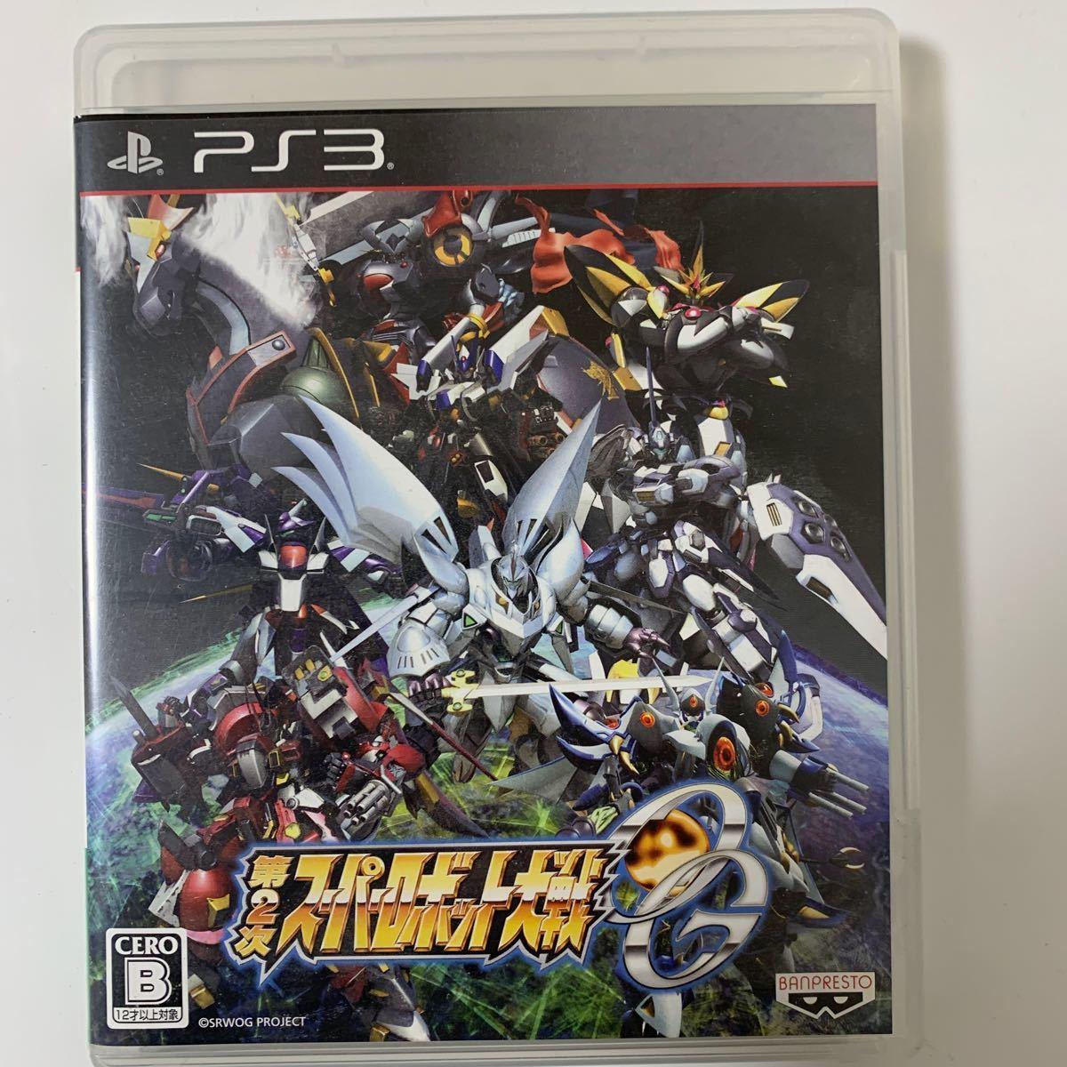 【PS3】 第2次スーパーロボット大戦OG [通常版]ジャンク品