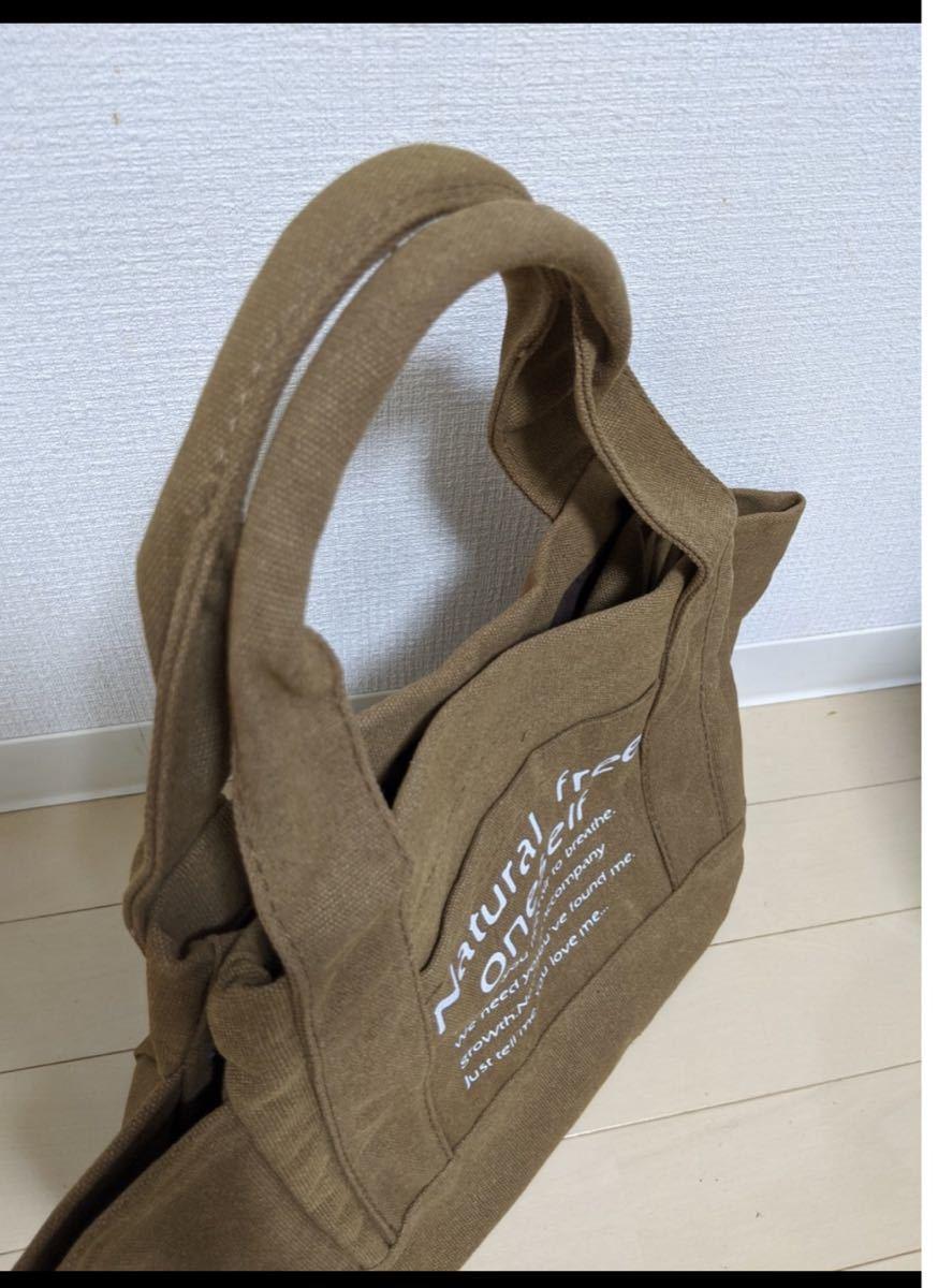 トートバッグ エコバッグ サブバッグ 2WAY 大容量 バッグ キャンバス
