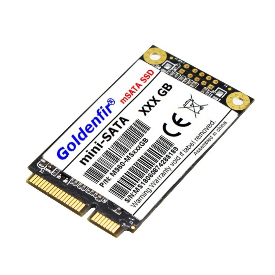 【最安値】SSD Goldenfir 256GB mSATA 新品 高速 NAND TLC 内蔵 デスクトップPC ノートパソコン_画像2