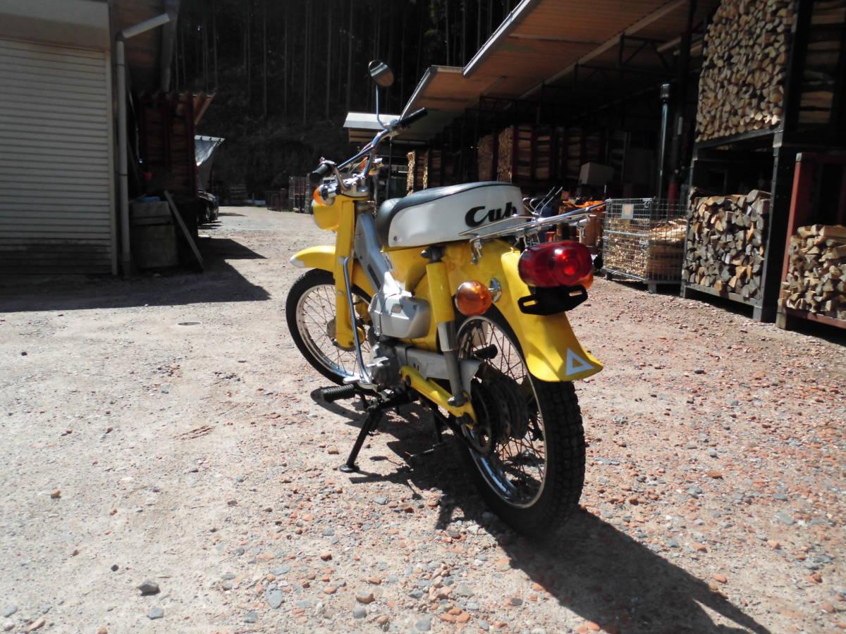 「愛知の薪屋 ハンターカブ CT50 副変速付き 1968年~販売開始 50年位前のバイク 走行距離少ない 希少 綺麗 書類有」の画像2