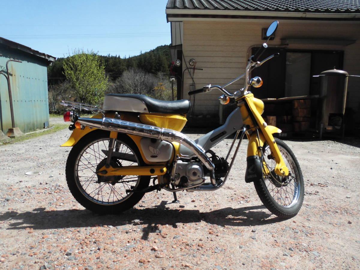 「愛知の薪屋 ハンターカブ CT50 副変速付き 1968年~販売開始 50年位前のバイク 走行距離少ない 希少 綺麗 書類有」の画像3