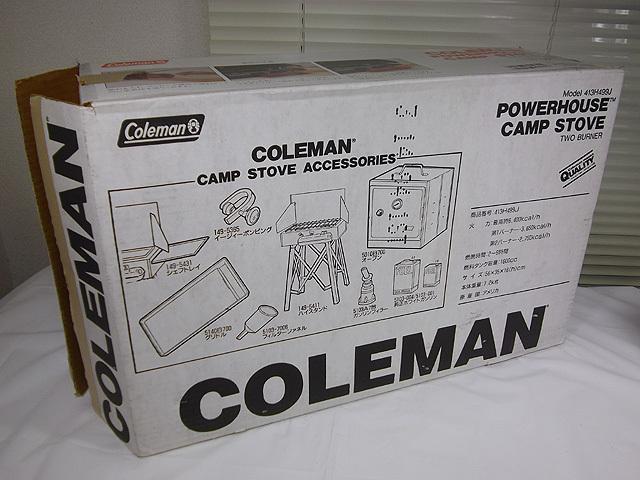 未使用 Coleman コールマン ツーバーナー 413H499J_画像10
