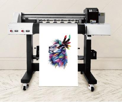 熱転写petフィルム印刷 バードランドDTFプリンター 仕上げ機セット DTF-600 2ヘッドパワフル白インク 起業・副業_画像2