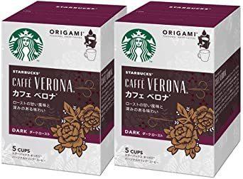 新品特価!ネスレ スターバックス オリガミ パーソナルドリップコーヒー カフェベロナ ×2箱_画像1
