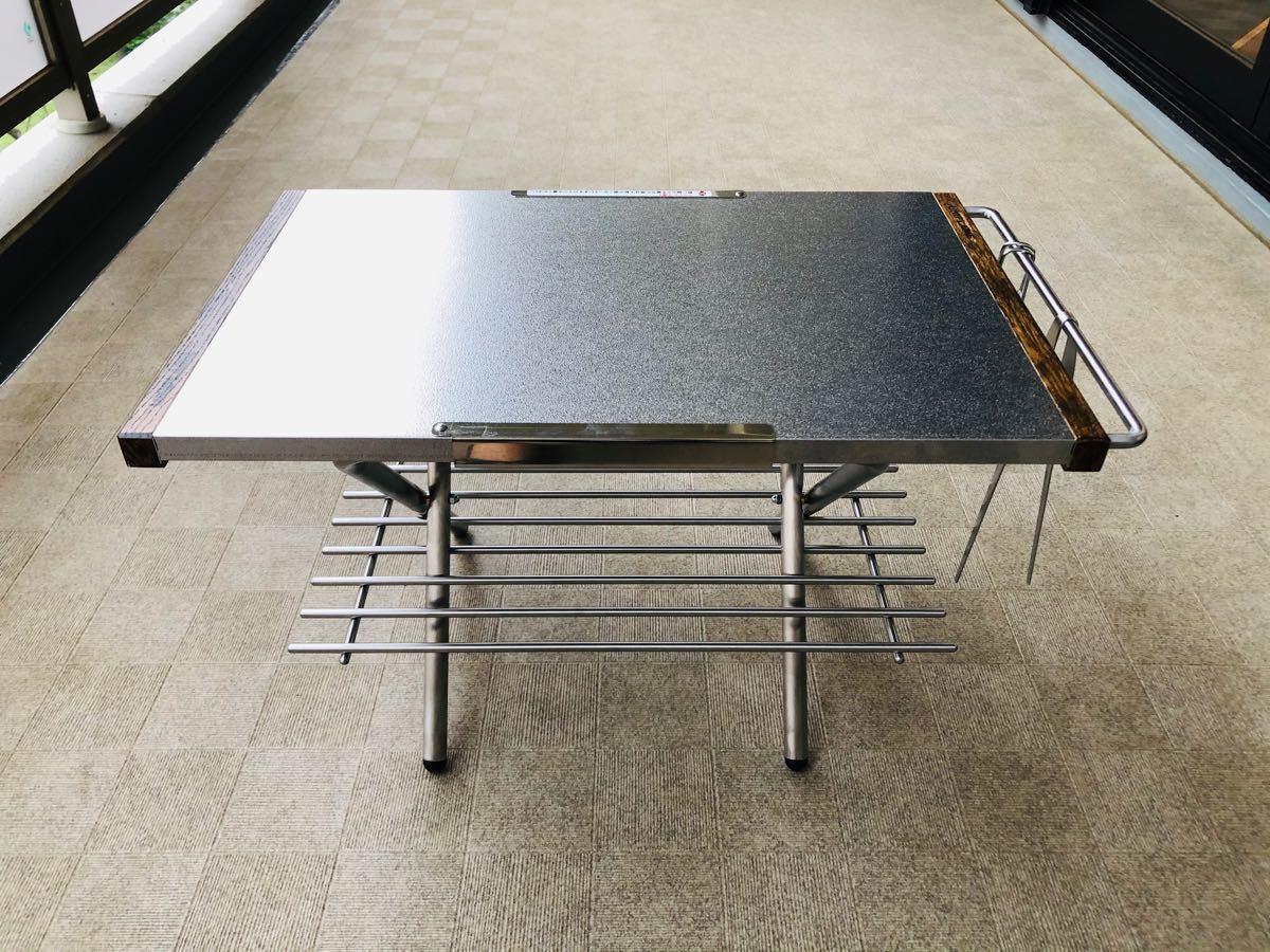 【新品未使用】ユニフレーム焚き火テーブル用カスタムパーツ3点セット