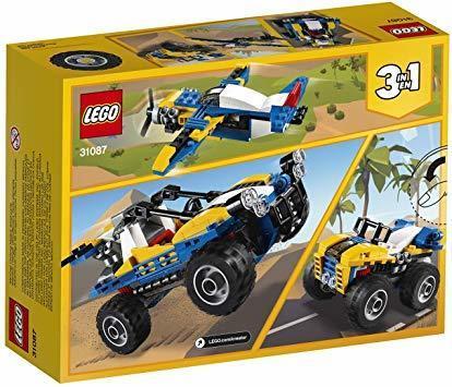 新品レゴ(LEGO) クリエイター 砂漠のバギーカー 31087 ブロック おもちゃ 女の子 男の子 車JHXD_画像6