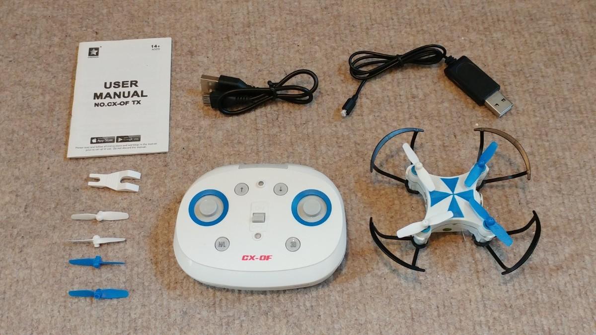 カメラ付きドローン CX-OF 安定性の高い室内ドローン