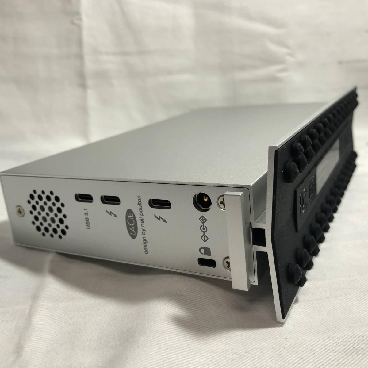 LaCie HDD 外付けハードディスク 8TB 2GGAP2/YND1382
