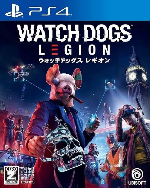 ウォッチドッグス レギオン PS4 PS5 ソフト