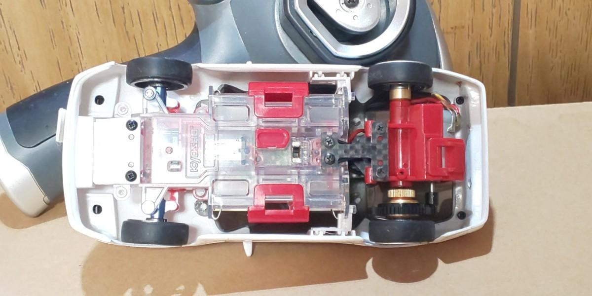 京商ミニッツ MR-015 RX-7 FC 、プロポKT-18 セット。
