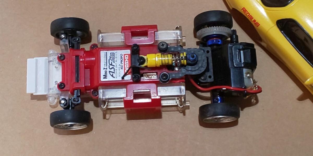 京商ミニッツ MR-015 RX-7 FD 、プロポKT-18 セット。