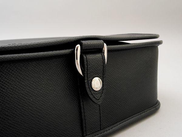 ■【ほぼ未使用】ルイヴィトン Louis Vuitton タイガ アンドレイ 斜め掛け ショルダーバッグ メンズ ブラック 極美品 定価約20万_画像7