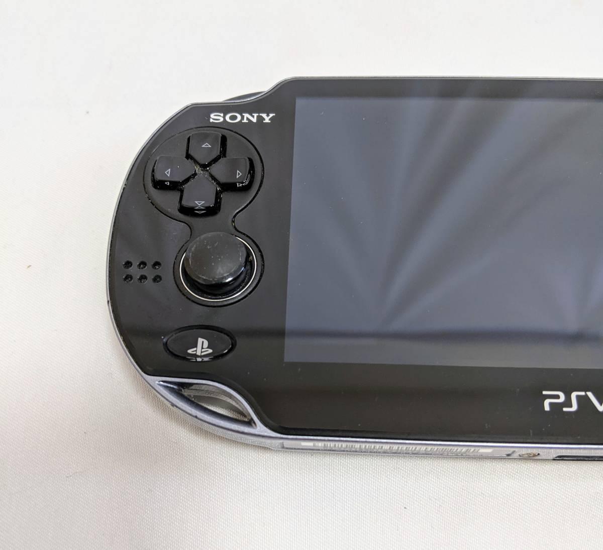 PlayStation Vita クリスタル・ブラック PCH-1000
