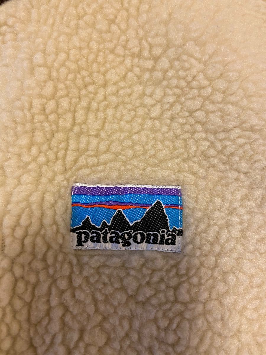 patagonia パタゴニアキッズ フリースベスト レトロX