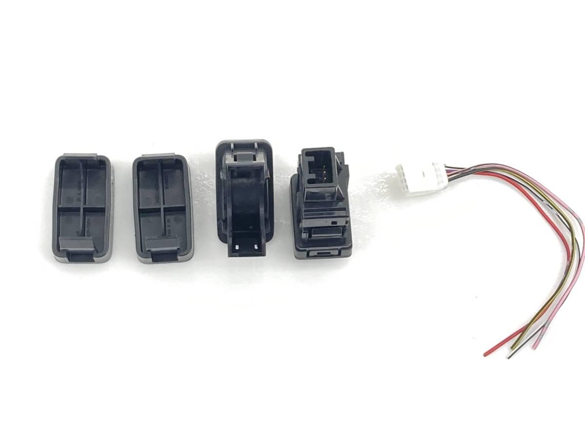 _b58875 ダイハツ ミラココア プラスG DBA-L675S レベライザー スイッチ 光軸 トリム 内装 カバー FL10 L685S_画像3