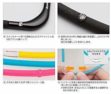 1品限定!ブラックXブラック 45cm ファイテン(phiten) ネックレス RAKUWA 磁気チタンネックGPFC684_画像3