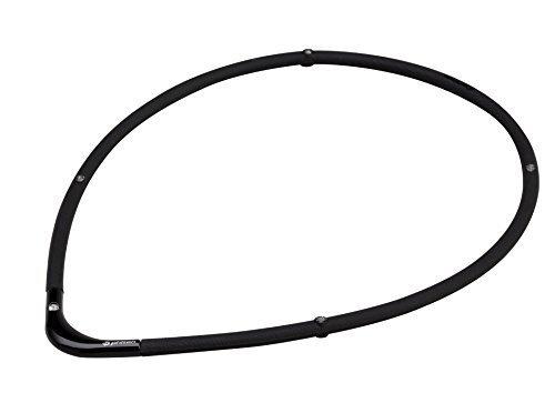 1品限定!ブラックXブラック 45cm ファイテン(phiten) ネックレス RAKUWA 磁気チタンネックGPFC684_画像6