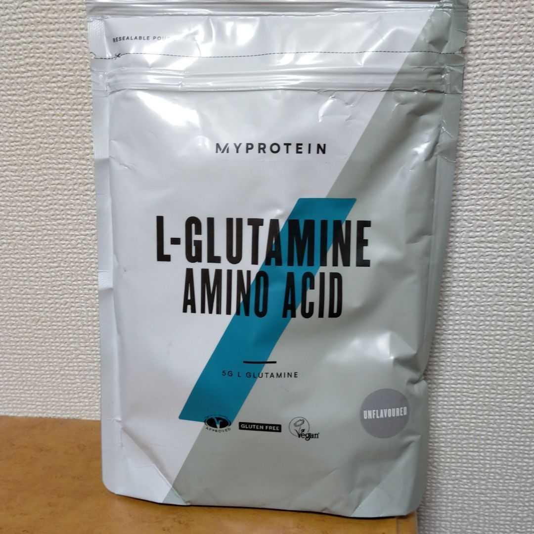 【匿名/送料込/新品】マイプロテイン グルタミン 500g_画像1