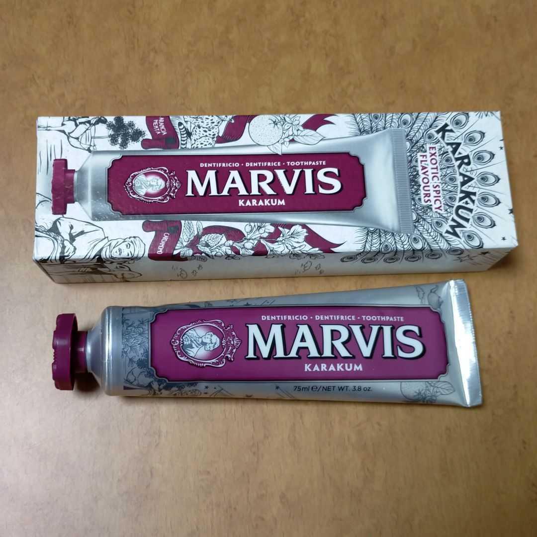 【匿名/送料込/新品】 MARVIS カラクム 歯磨き粉 75mL_画像1