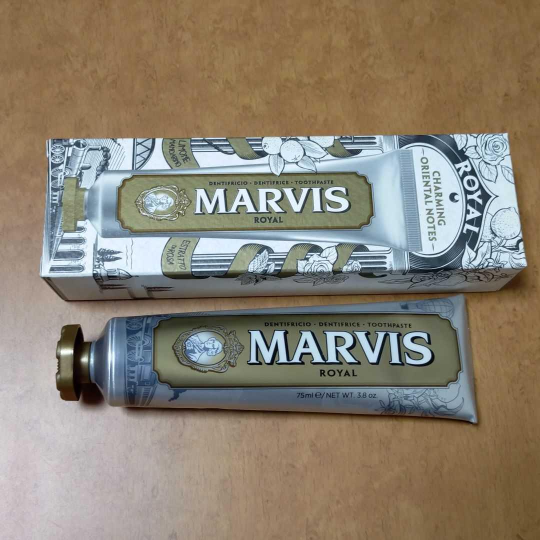 【匿名/送料込/新品】 MARVIS ロイヤル 歯磨き粉 75mL_画像1