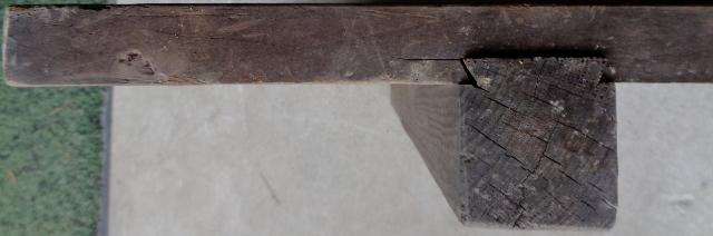 無垢板 すのこ 台 架台 作業台 アンティーク レトロ 古木_画像4