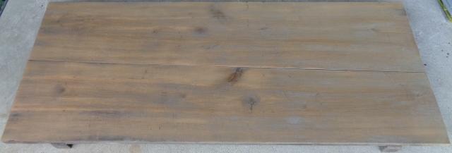 無垢板 すのこ 台 架台 作業台 アンティーク レトロ 古木_画像2