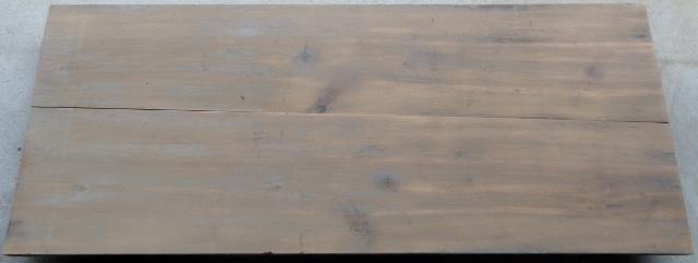 無垢板 すのこ 台 架台 作業台 アンティーク レトロ 古木_画像1