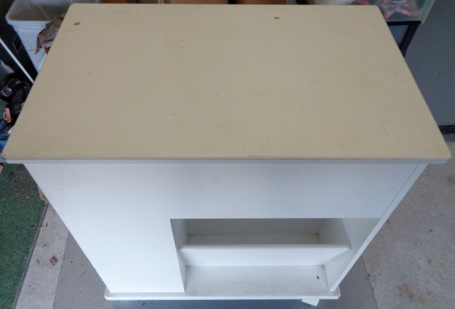 キャビネットワゴン 鏡台 ゴミ箱 ティッシュボックス 引き出し 収納 マルチツール マルチキャビネット マルチ収納_画像6