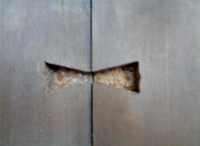 無垢板 すのこ 台 架台 作業台 アンティーク レトロ 古木_画像6