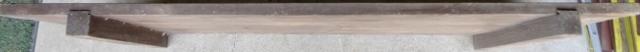無垢板 すのこ 台 架台 作業台 アンティーク レトロ 古木_画像3