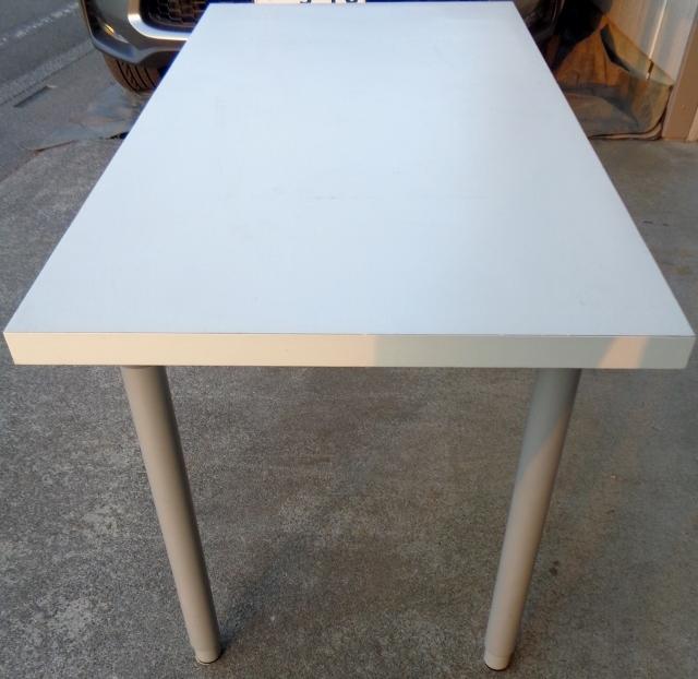 IKEA イケア VIKA AMON テーブルトップ 高さ調節脚4本セット☆ ダイニングテーブル 作業テーブル 机 デスク 作業台としても☆_画像3