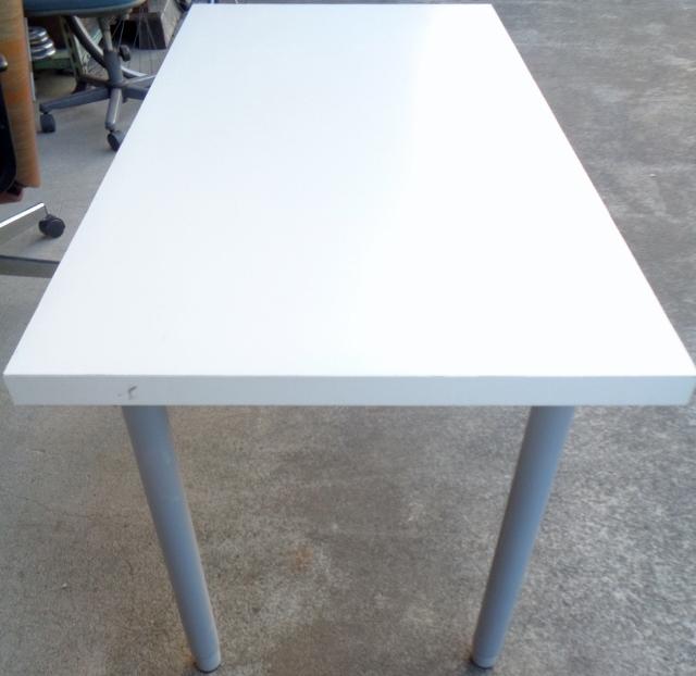 IKEA イケア VIKA AMON テーブルトップ 高さ調節脚4本セット☆ ダイニングテーブル 作業テーブル 机 デスク 作業台としても☆_画像6