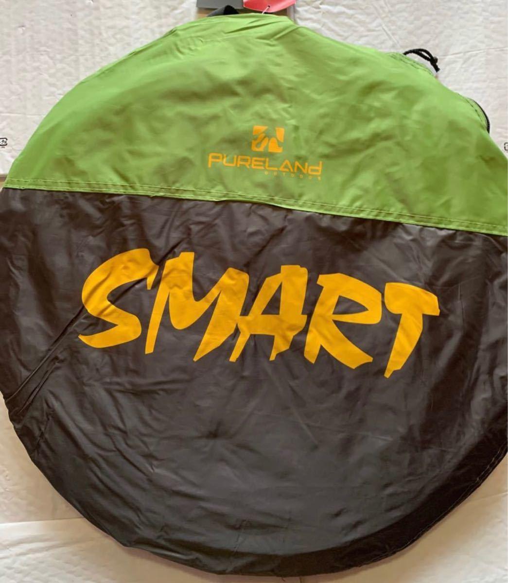 テント 2人用 アウトドア ソロ キャンプテント ワンタッチ 防風防水 ポップアップテント 設営簡単超軽量 防災用 収納袋付き