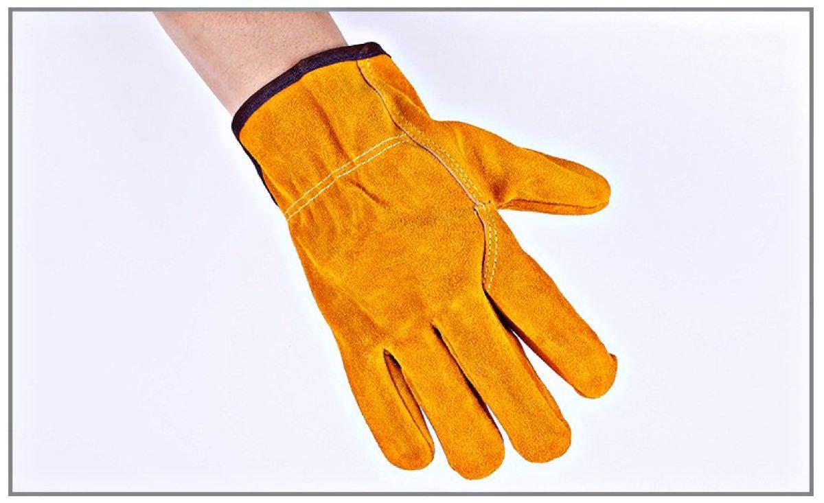 耐熱グローブ・防火手袋・作業手袋♪  皮手袋