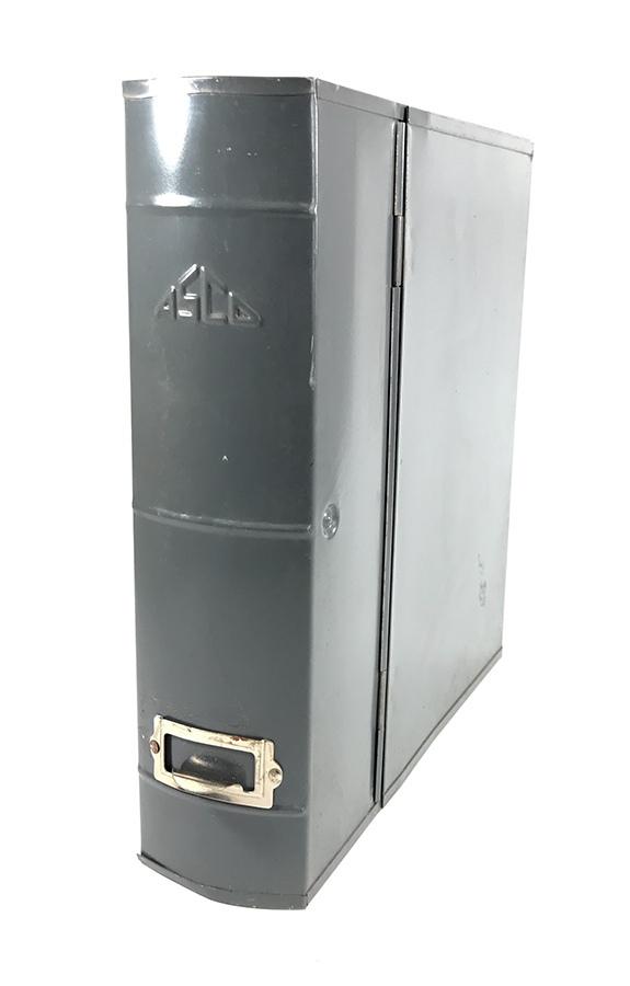 1950~60's【ASCO NEW YORK】アンティークスチールファイルボックス/ハンガー/アメリカ/ビンテージ店舗什器/ランプ/O.C.WHITE/ランプ/照明_画像1