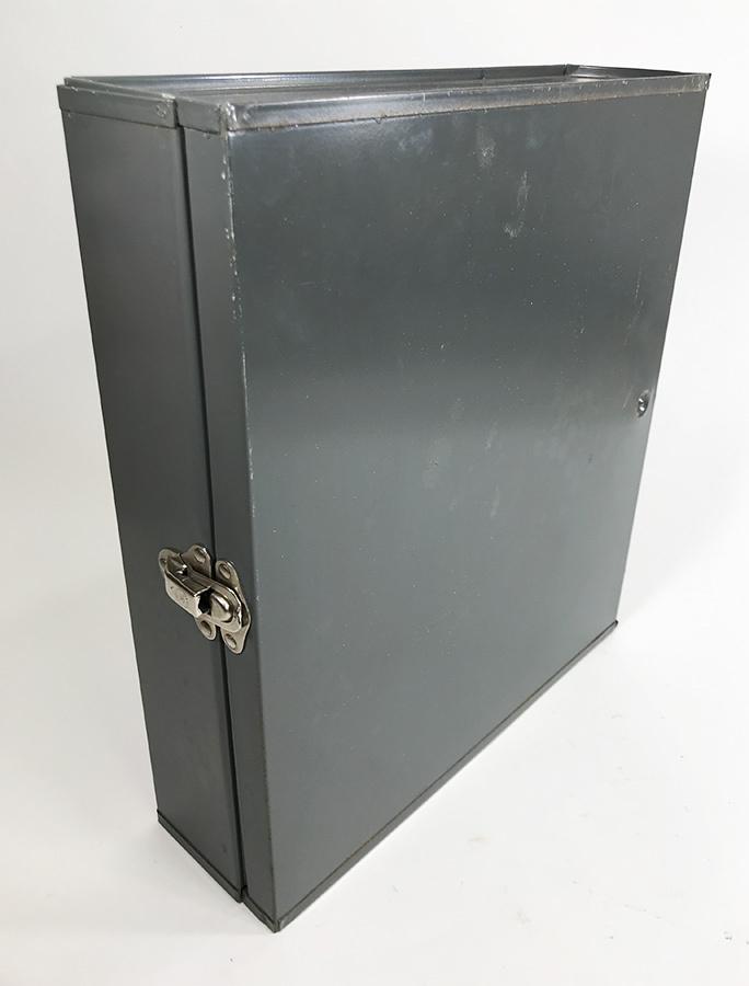 1950~60's【ASCO NEW YORK】アンティークスチールファイルボックス/ハンガー/アメリカ/ビンテージ店舗什器/ランプ/O.C.WHITE/ランプ/照明_画像3
