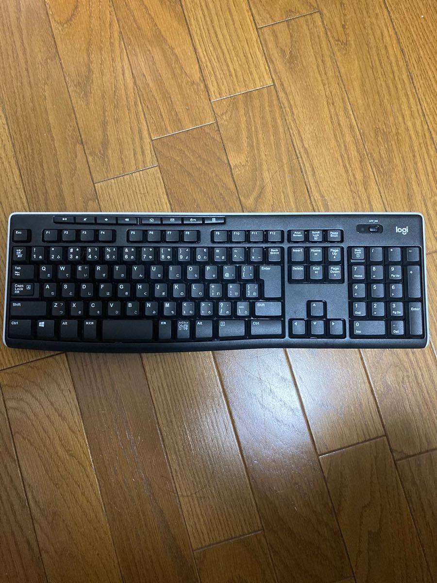 Logicool ワイヤレスキーボード K270