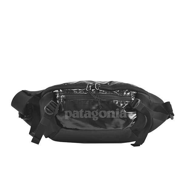 patagonia ウエストバッグ BLACK ボディバッグ 5L