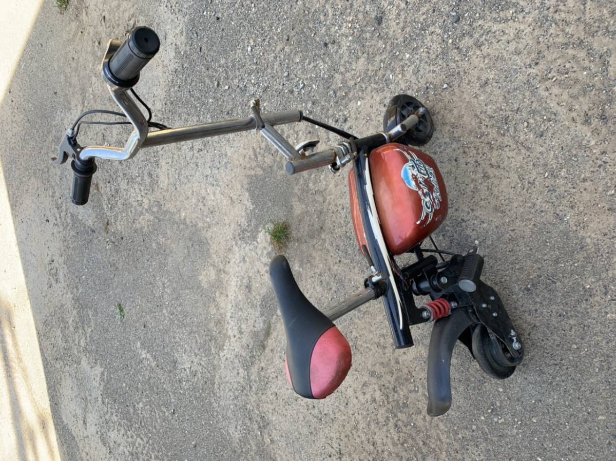 y-62 小型電動バイク 電動自転車 ミニバイク_画像1