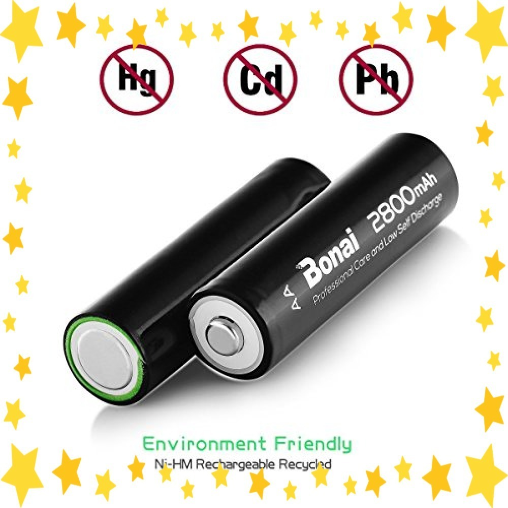 ●今だけ●8個パック/単3/充電池/BONAI/単3形/充電池/充電式ニッケル水素電池/8個パック(超大容量2800mAh/約1_画像4
