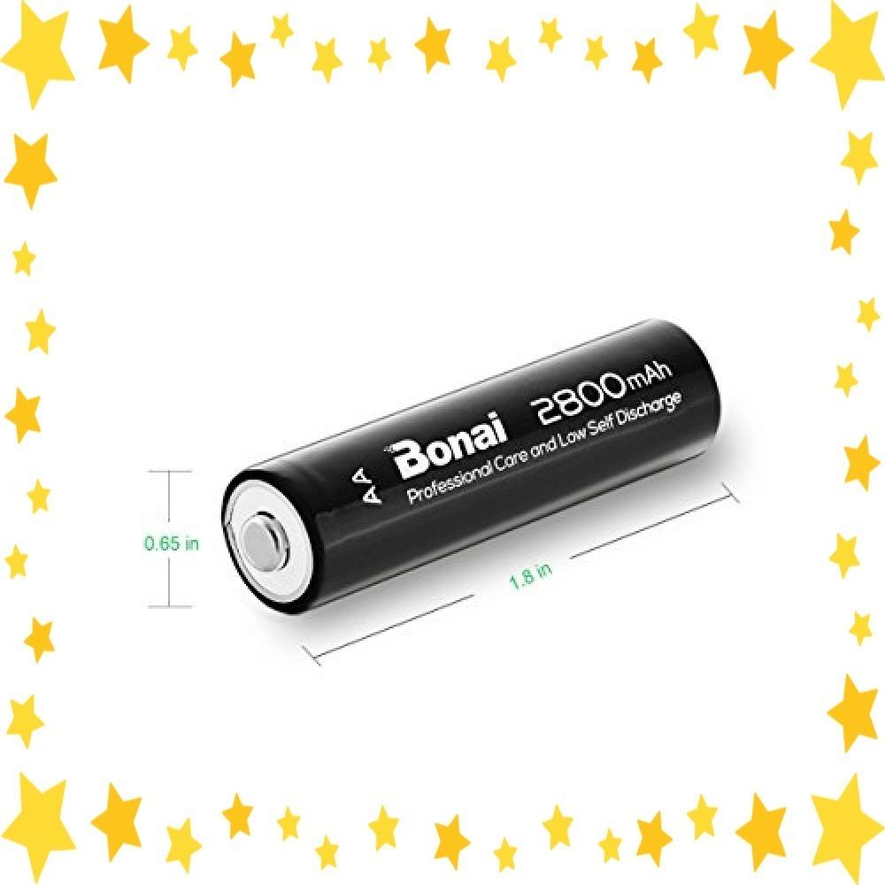 ●今だけ●8個パック/単3/充電池/BONAI/単3形/充電池/充電式ニッケル水素電池/8個パック(超大容量2800mAh/約1_画像3