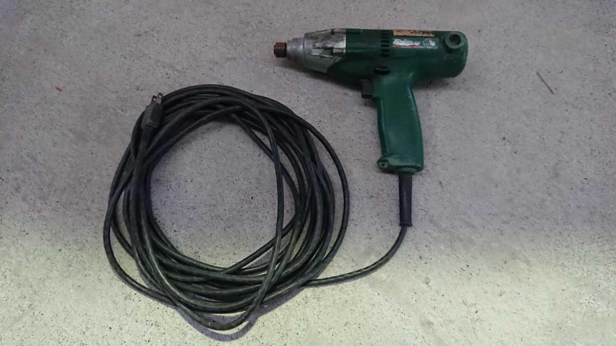 【ジャンク】日立工機 インパクトドライバー 電動工具 WH12VA_画像1