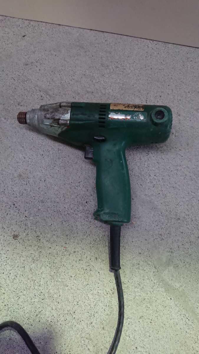 【ジャンク】日立工機 インパクトドライバー 電動工具 WH12VA_画像2