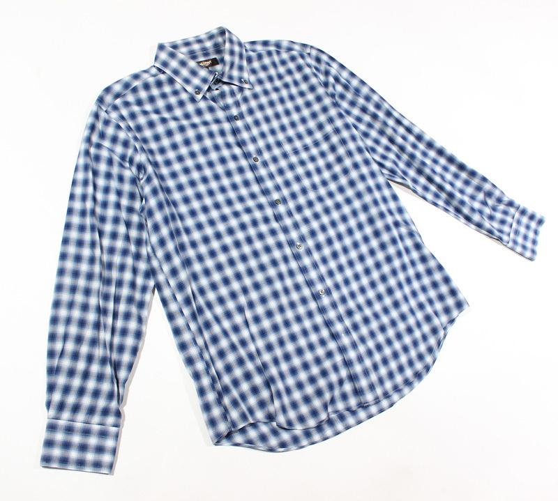 Paul Stuart ポールスチュアート 長袖チェックBDシャツ L_画像2
