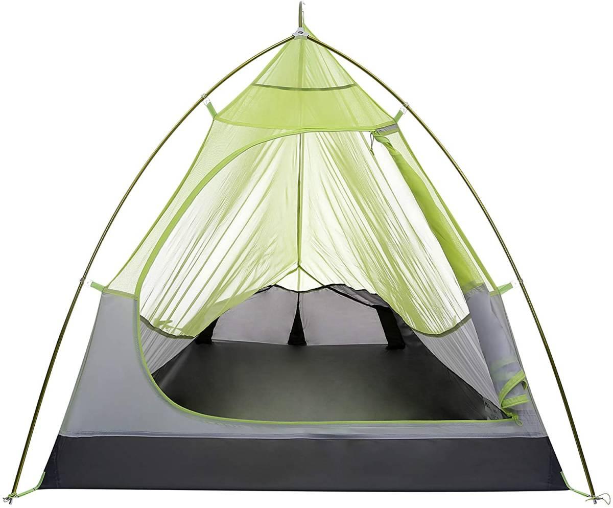 【高品質 ソロテント 】1人用 軽量 テント ツーリングテント 登山 ツーリング 自転車 キャンプ ソロキャン 日本正規品