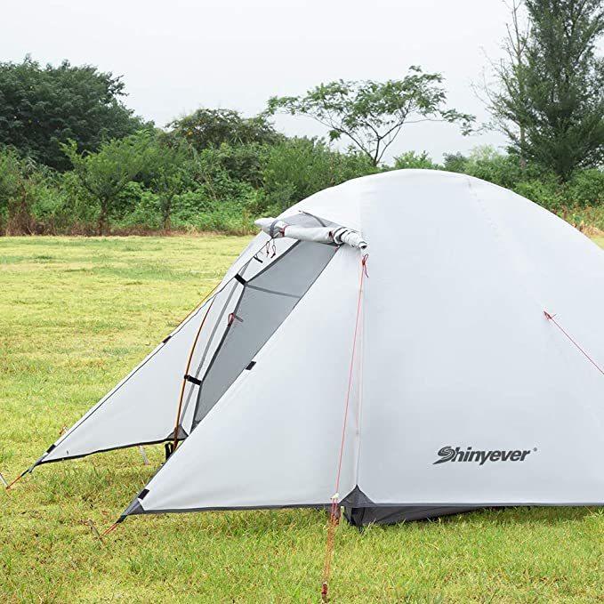 【簡単設営】ツーリング テント 自立式 前室 タープスペース/ ソロ キャンプ 1人用 2人用 軽量 コンパクト アウトドア 防災