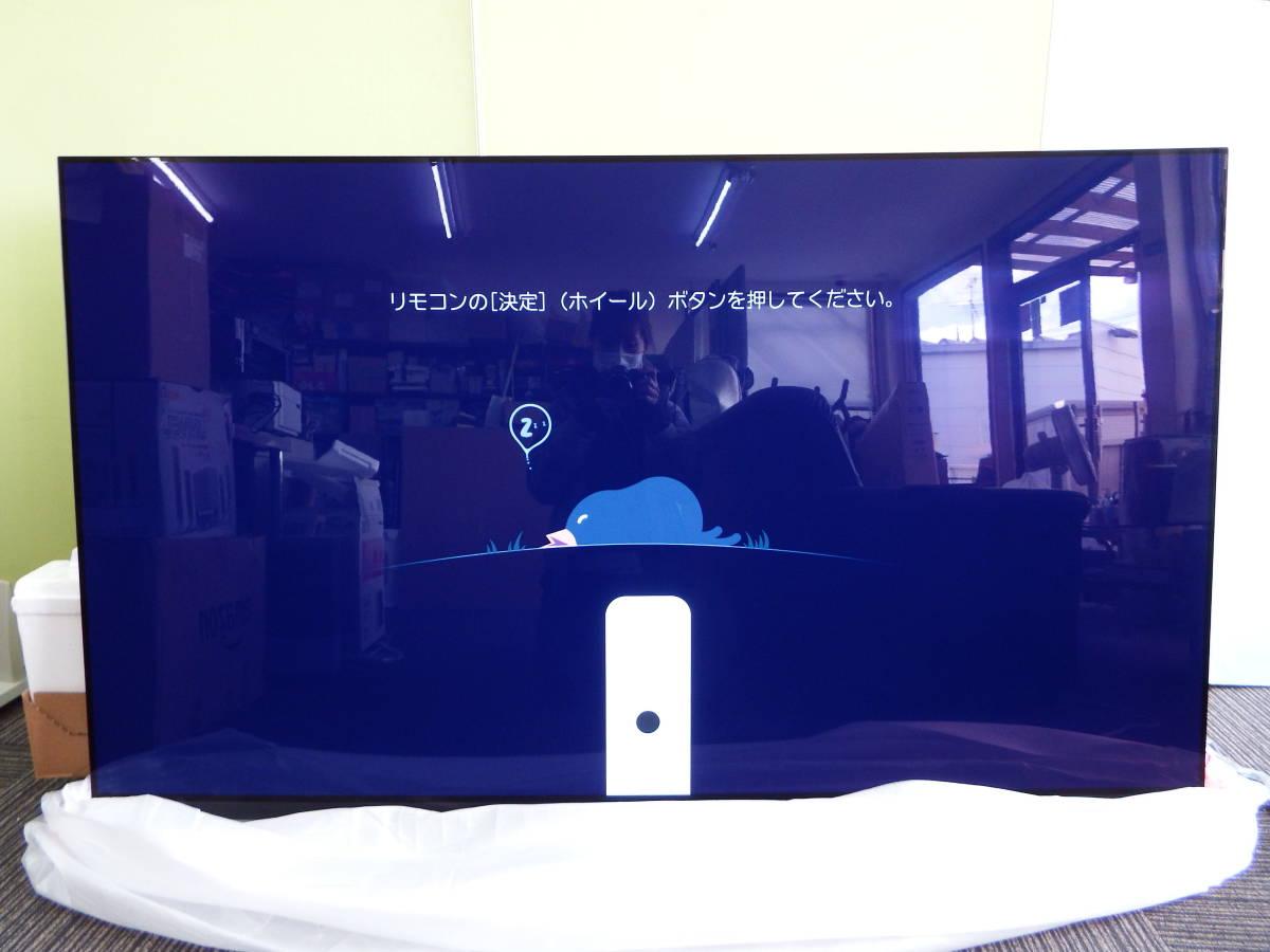 【1円スタート!!】新品 2019年製 有機ELテレビ LG 65V型 OLED65E9PJA 4K対応 BS・CS 4Kチューナー内蔵 YouTube【M04C05】_画像3