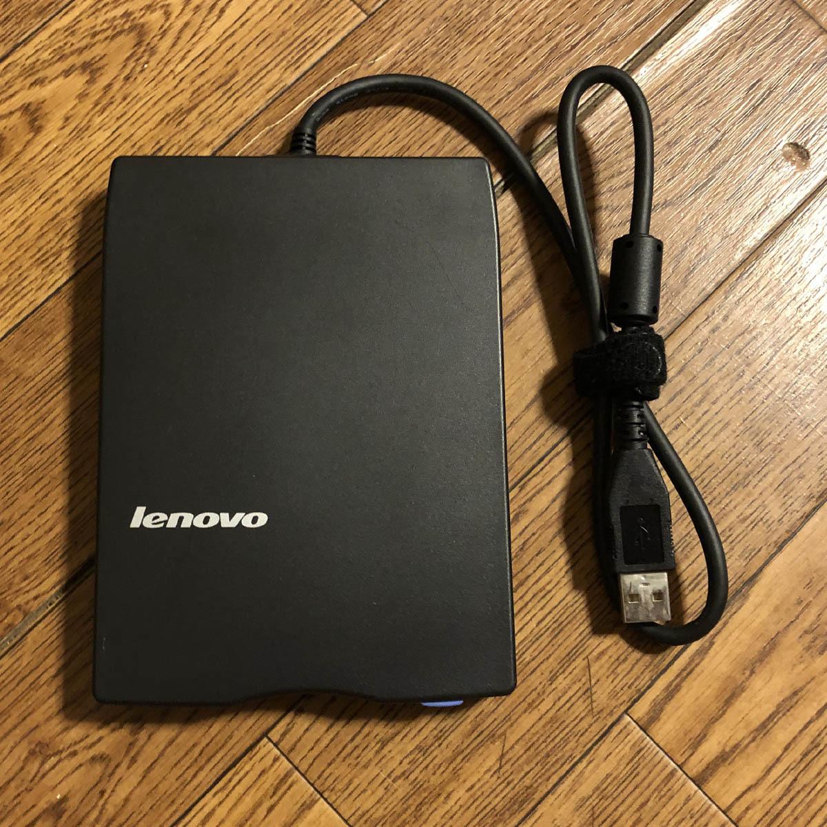 Lenovo レノボ 3.5インチ フロッピーディスクドライブ USB FLOPPY DISK DRIVE FDD TEAC FD-05PUB